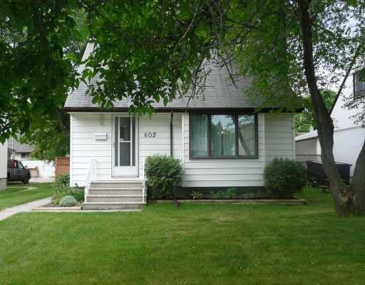 Main Photo: 602 GAREAU Street in WINNIPEG: St Boniface Residential for sale (South East Winnipeg)  : MLS®# 2912112