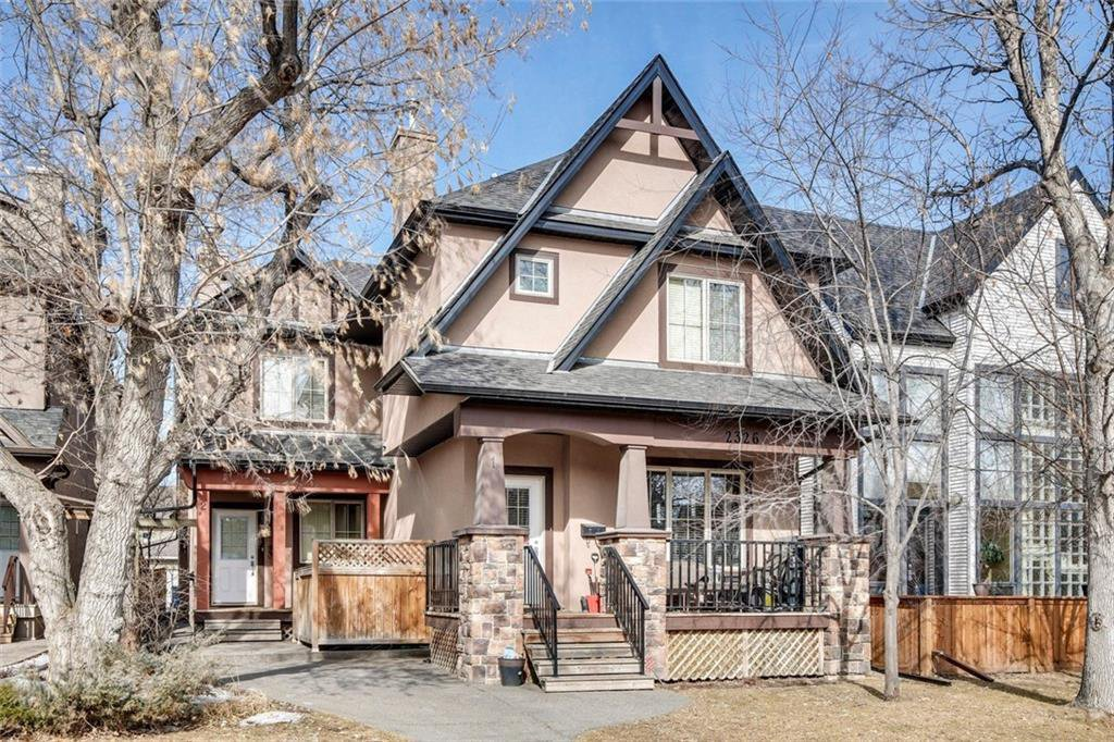 Main Photo: 3 2326 2 Avenue NW in Calgary: West Hillhurst Row/Townhouse for sale : MLS®# C4299141