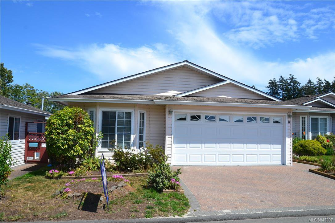 Main Photo: 8 Eagle Lane in View Royal: VR Glentana Manufactured Home for sale : MLS®# 843897