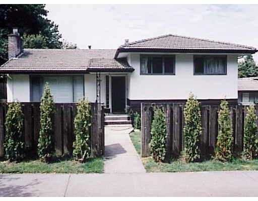 Main Photo: 4495 WALLACE ST in Vancouver: Dunbar House for sale (Vancouver West)  : MLS®# V541366