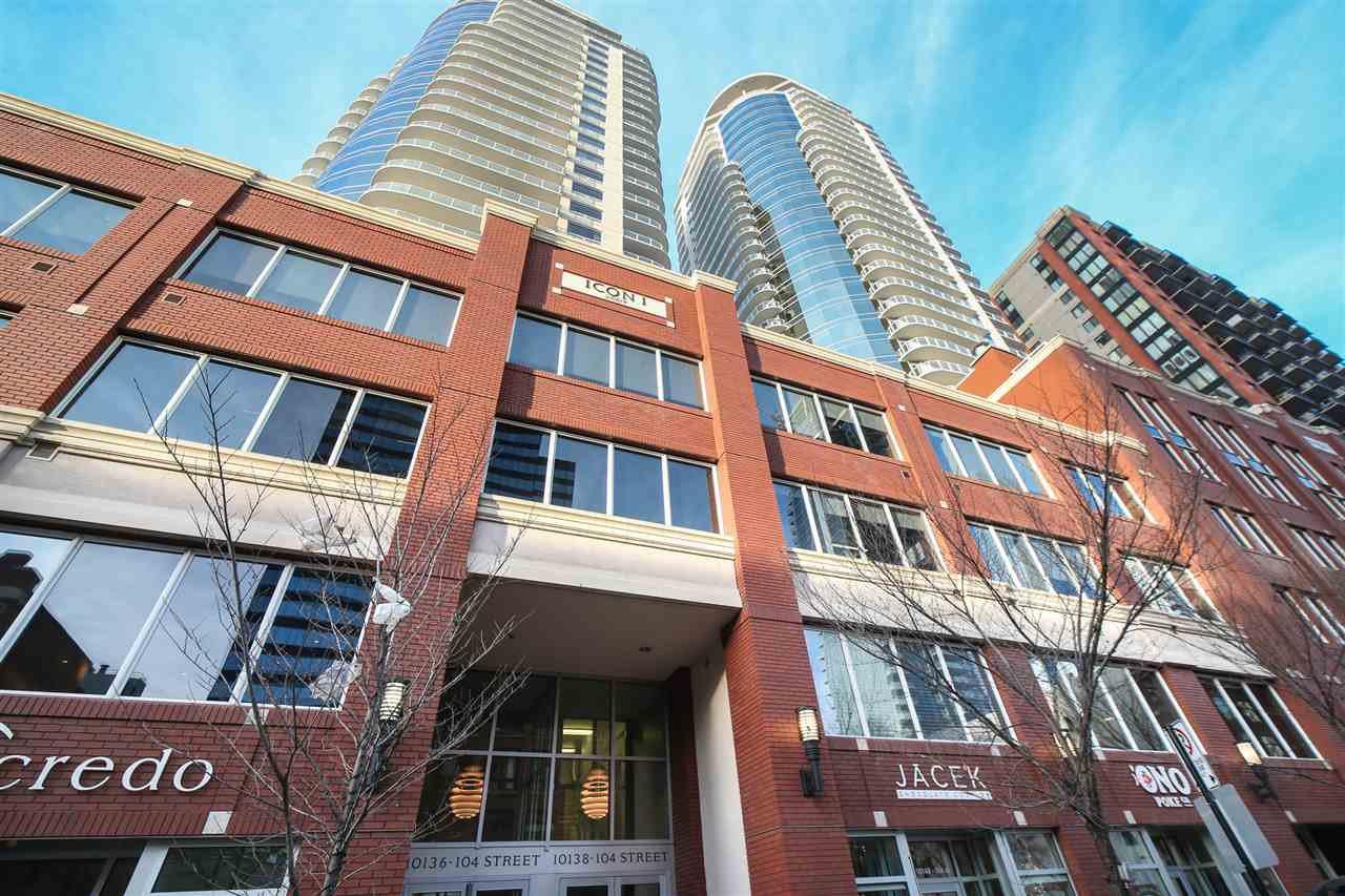Main Photo: 1605 10136 104 Street in Edmonton: Zone 12 Condo for sale : MLS®# E4183470