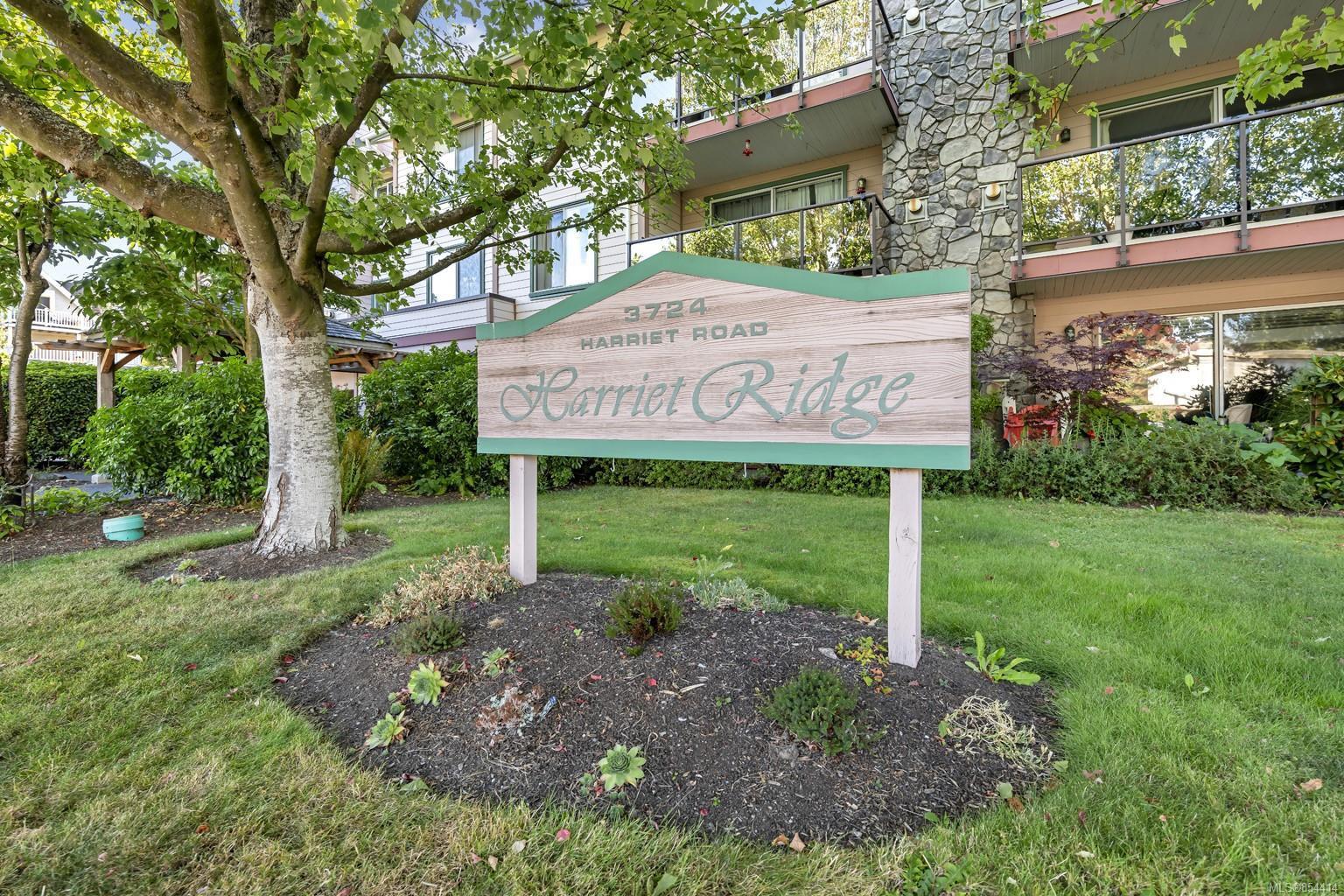 Main Photo: 306 3724 Harriet Rd in : SW Gateway Condo Apartment for sale (Saanich West)  : MLS®# 854414