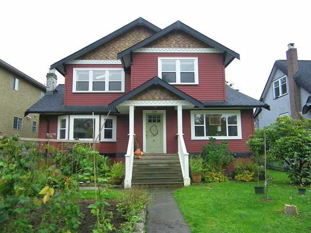 Main Photo: 386 W 23RD Avenue in Vancouver: Cambie House for sale (Vancouver West)  : MLS®# V854672