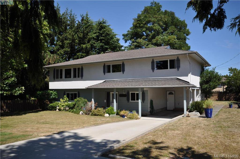Main Photo: 1586 Bonita Place in VICTORIA: SE Gordon Head Single Family Detached for sale (Saanich East)  : MLS®# 415450