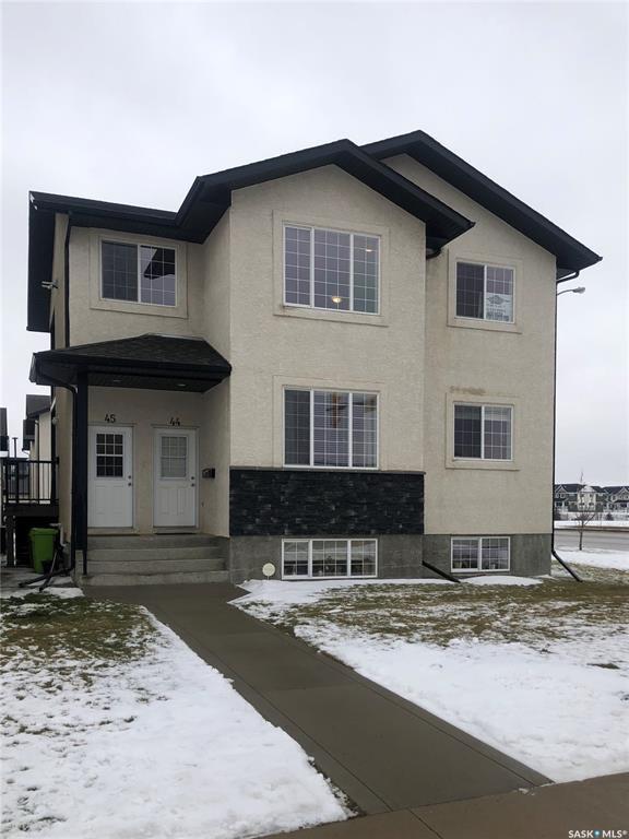 Main Photo: 43 4640 Harbour Landing Drive in Regina: Harbour Landing Residential for sale : MLS®# SK788418