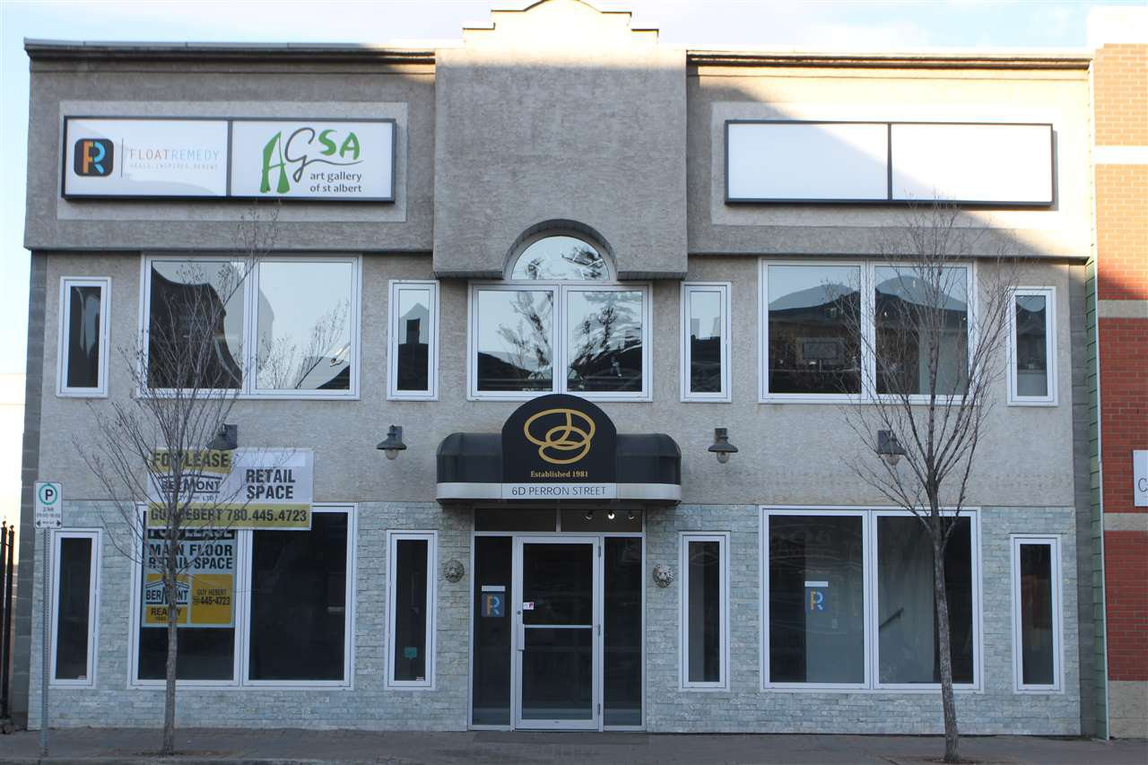 Main Photo: 6D Perron Street: St. Albert Retail for lease : MLS®# E4179041