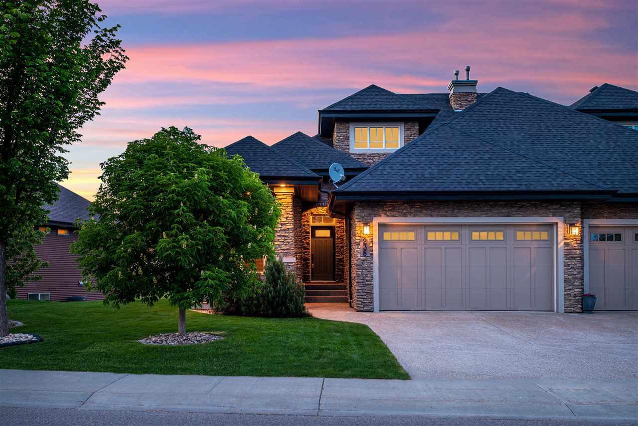 Main Photo: 238 AMBLESIDE Drive in Edmonton: Zone 56 House Half Duplex for sale : MLS®# E4183811