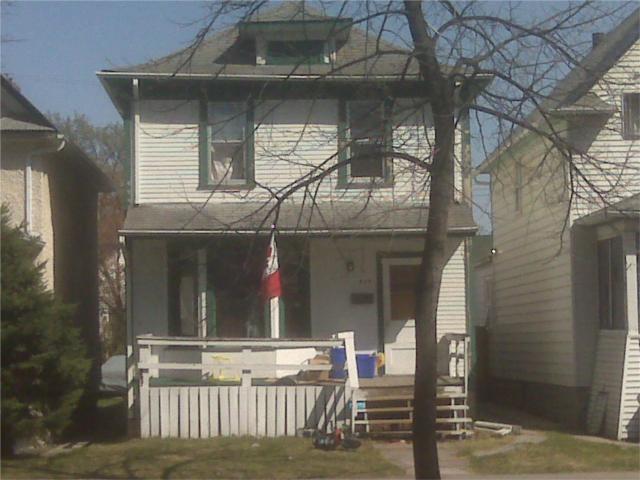 Main Photo: 409 Lipton Street in WINNIPEG: West End / Wolseley Residential for sale (West Winnipeg)  : MLS®# 1007300