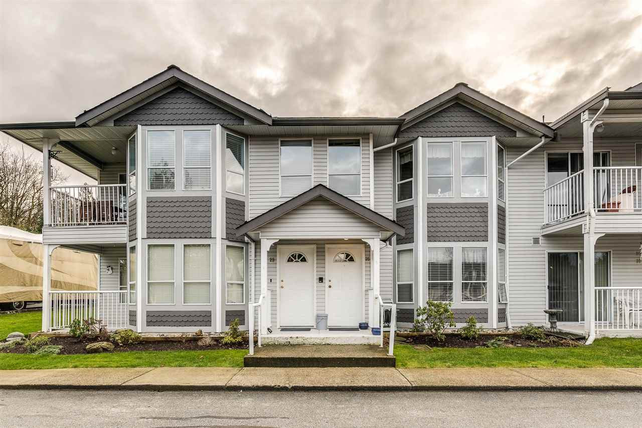 "Main Photo: 29 12296 224 Street in Maple Ridge: East Central Townhouse for sale in ""THE COLONIAL"" : MLS®# R2432435"
