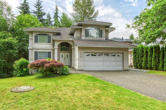 Main Photo: 3318 Robson Drive in COQUITLAM: House for sale : MLS®# R2473604