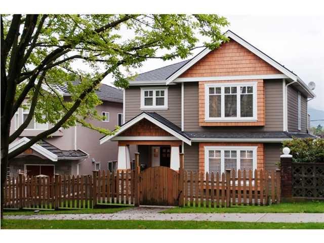 Main Photo: 3243 GRAVELEY Street in Vancouver: Renfrew VE House for sale (Vancouver East)  : MLS®# V852486
