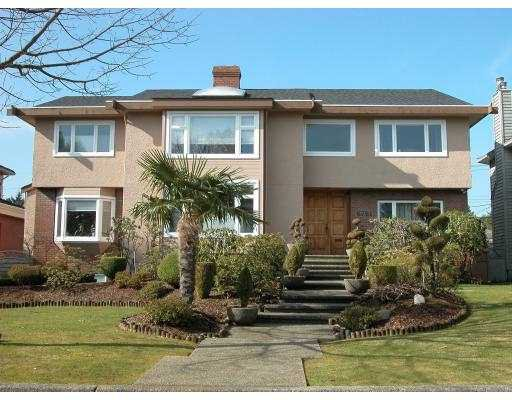 Main Photo: 6761 SELKIRK Street in Vancouver: South Granville House for sale (Vancouver West)  : MLS®# V764706