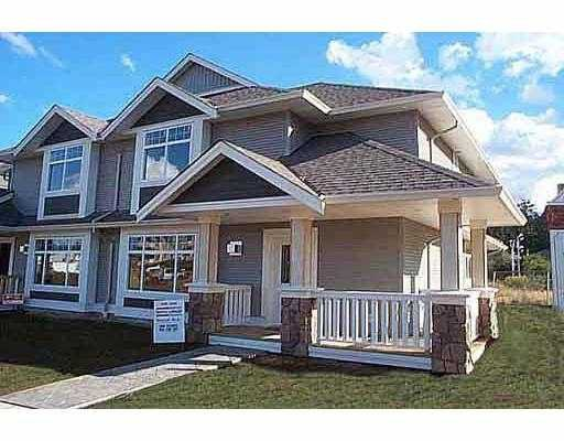 """Main Photo: 14 19148 124TH AV in Pitt Meadows: Mid Meadows Townhouse for sale in """"COUNTRY CROSSING"""" : MLS®# V566948"""