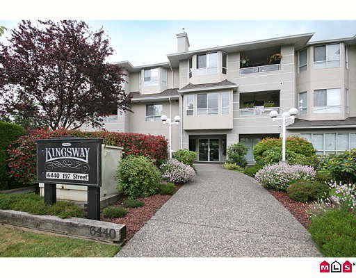 "Main Photo: 201 6440 197TH Street in Langley: Willoughby Heights Condo for sale in ""KINGSWAY"" : MLS®# F2915652"