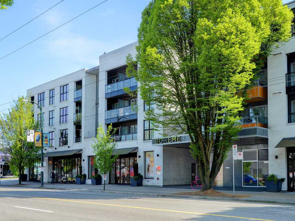 "Main Photo: 214 1588 HASTINGS Street in Vancouver: Hastings Sunrise Condo for sale in ""Boheme"" (Vancouver East)  : MLS®# R2401182"