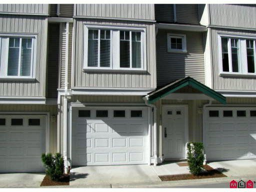 "Main Photo: 83 12711 64TH Avenue in Surrey: West Newton Townhouse for sale in ""PALAETTE ON THE PARK"" : MLS®# F1103357"