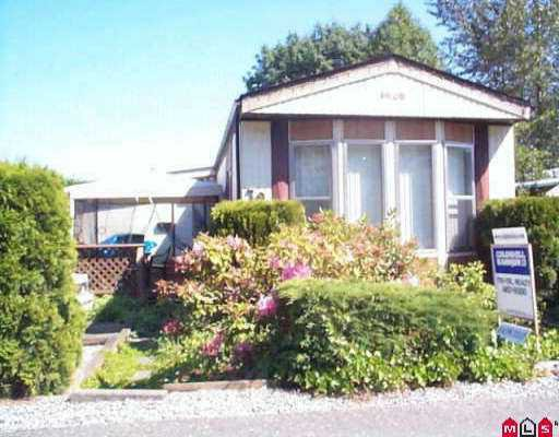 """Main Photo: 79 10221 WILSON ST in Mission: Stave Falls Manufactured Home for sale in """"Triple Creek Estates"""" : MLS®# F2511185"""