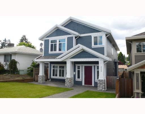 Main Photo: 111 EIGHTH Avenue in New_Westminster: GlenBrooke North House for sale (New Westminster)  : MLS®# V717809