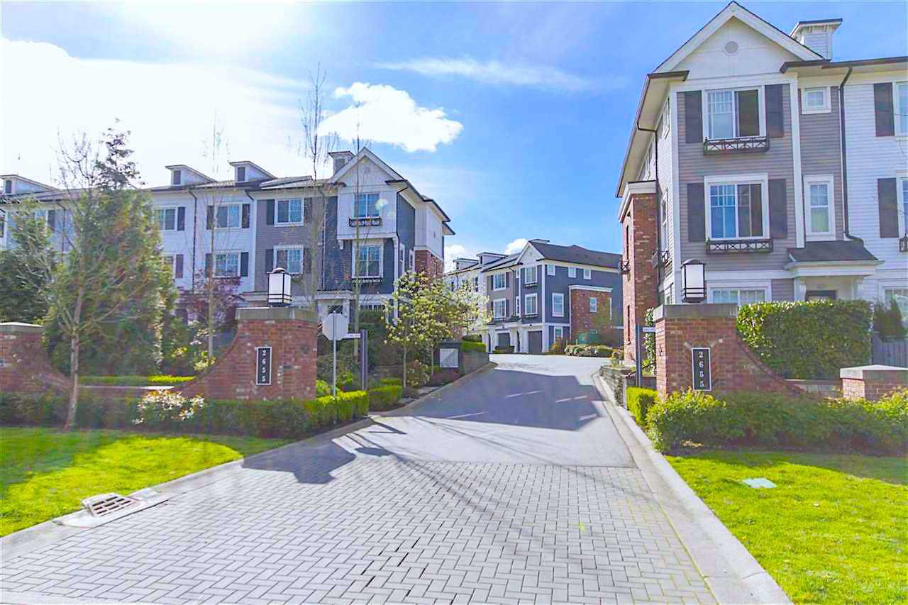 "Main Photo: 2016 2655 BEDFORD Street in Port Coquitlam: Central Pt Coquitlam Townhouse for sale in ""WESTWOOD"" : MLS®# R2402932"