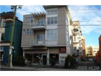 Main Photo: 305 1721 Quadra Street in VICTORIA: Vi Central Park Townhouse for sale (Victoria)  : MLS®# 239242