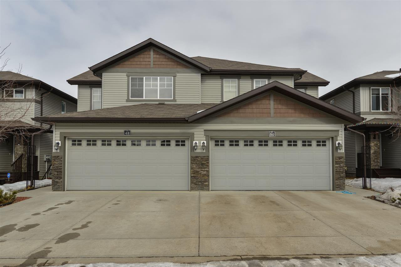 Main Photo: 48 8602 SOUTHFORT Boulevard: Fort Saskatchewan House Half Duplex for sale : MLS®# E4207717