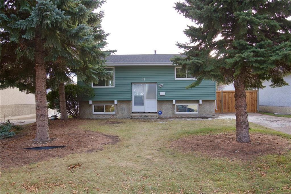 Main Photo: 71 Meighen Bay in Winnipeg: Valley Gardens Residential for sale (3E)  : MLS®# 202027258