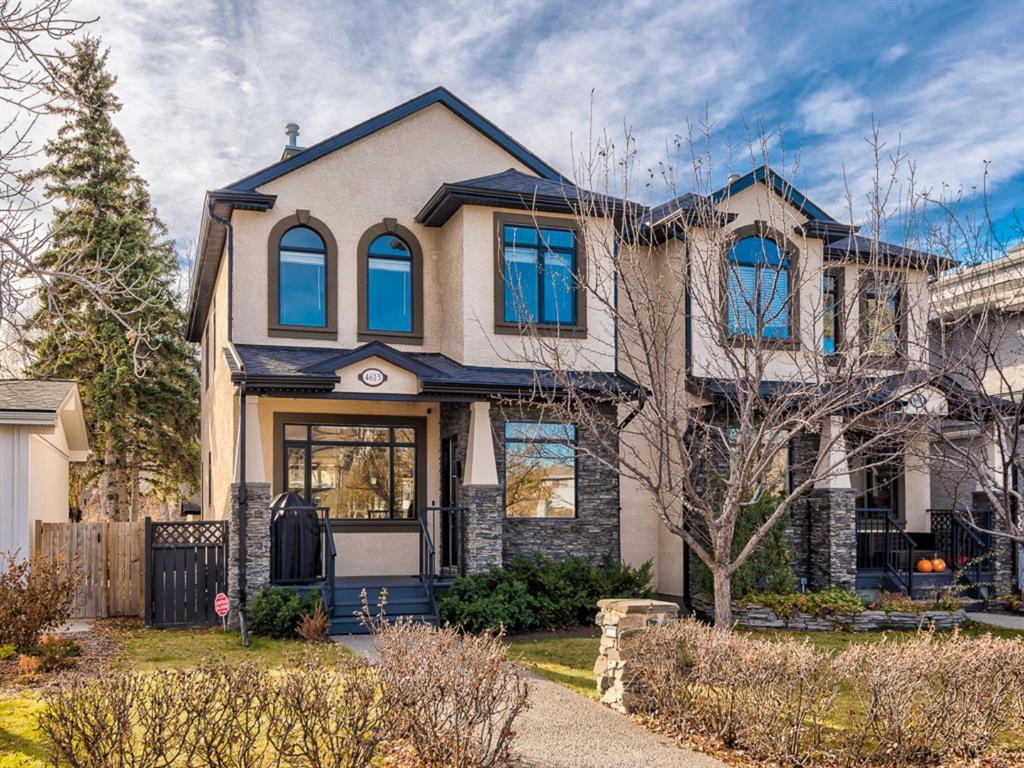 Main Photo: 4613 Monterey Avenue NW in Calgary: Montgomery Semi Detached for sale : MLS®# A1048374