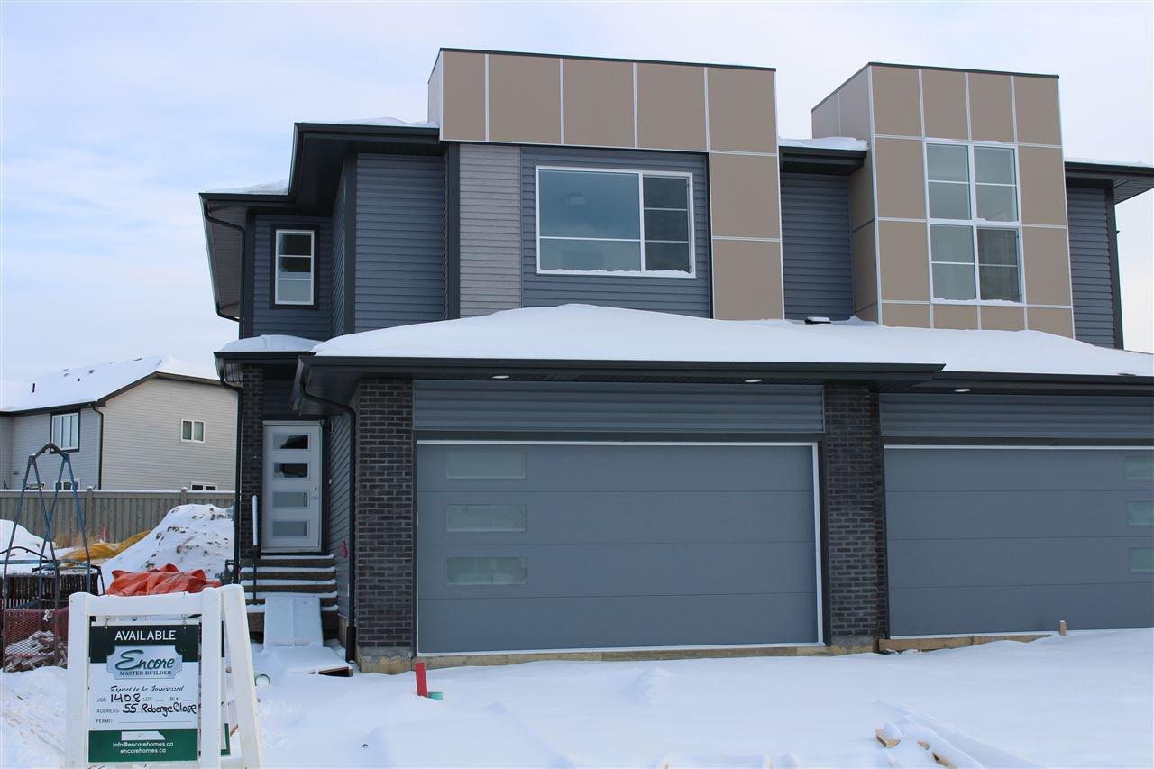 Main Photo: 67 Roberge Close: St. Albert House Half Duplex for sale : MLS®# E4224336