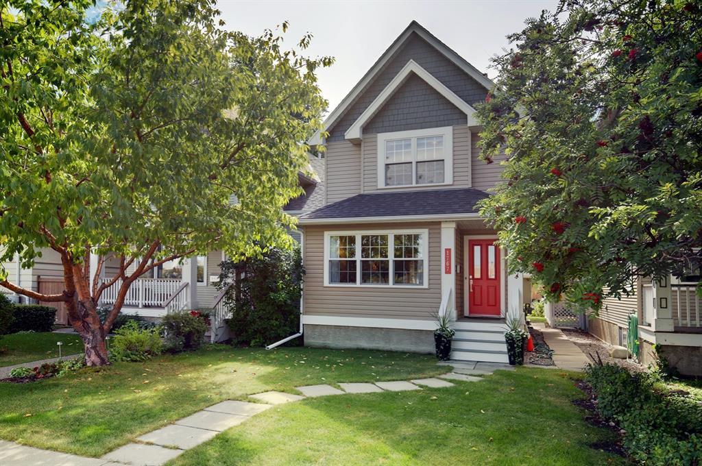 Main Photo: 1767 2 Avenue NW in Calgary: Hillhurst Semi Detached for sale : MLS®# A1032060