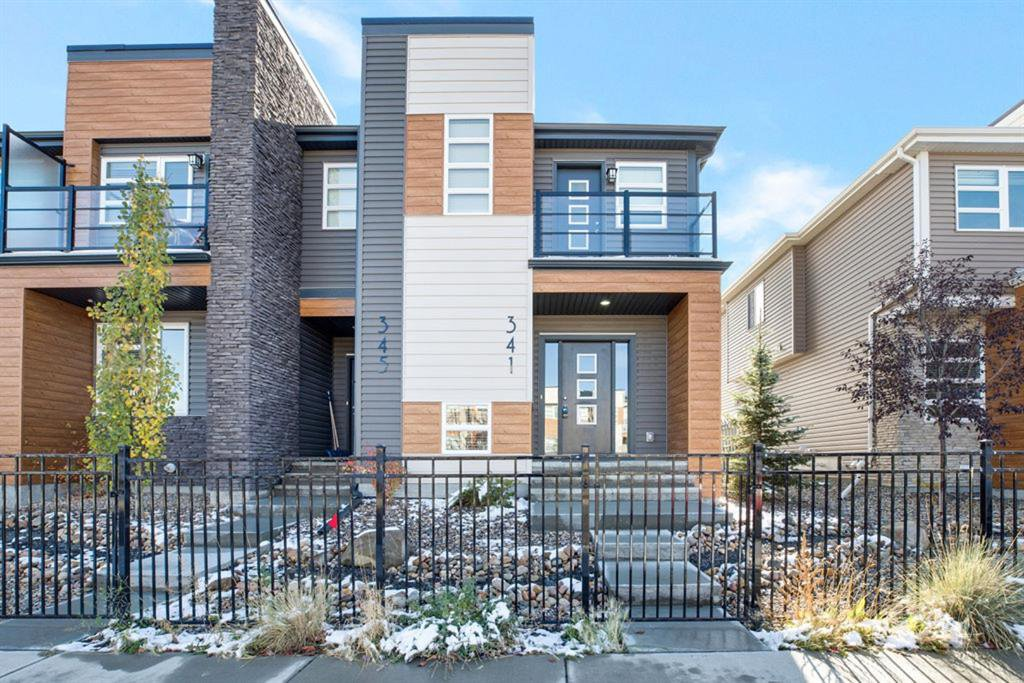 Main Photo: 341 Midtown Gate SW: Airdrie Row/Townhouse for sale : MLS®# A1042691