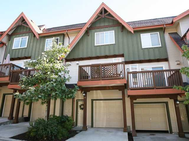 """Main Photo: 48 2000 PANORAMA Drive in Port Moody: Heritage Woods PM Townhouse for sale in """"MOUNTAIN'S EDGE"""" : MLS®# V852937"""