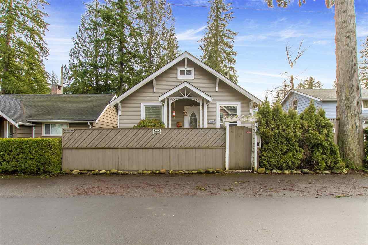 "Main Photo: 275 FIR Street: Cultus Lake House for sale in ""Cultus Lake"" : MLS®# R2428285"