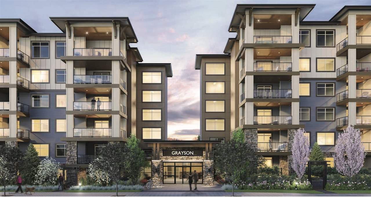 "Main Photo: 105 20673 78 Avenue in Langley: Willoughby Heights Condo for sale in ""Grayson"" : MLS®# R2444196"