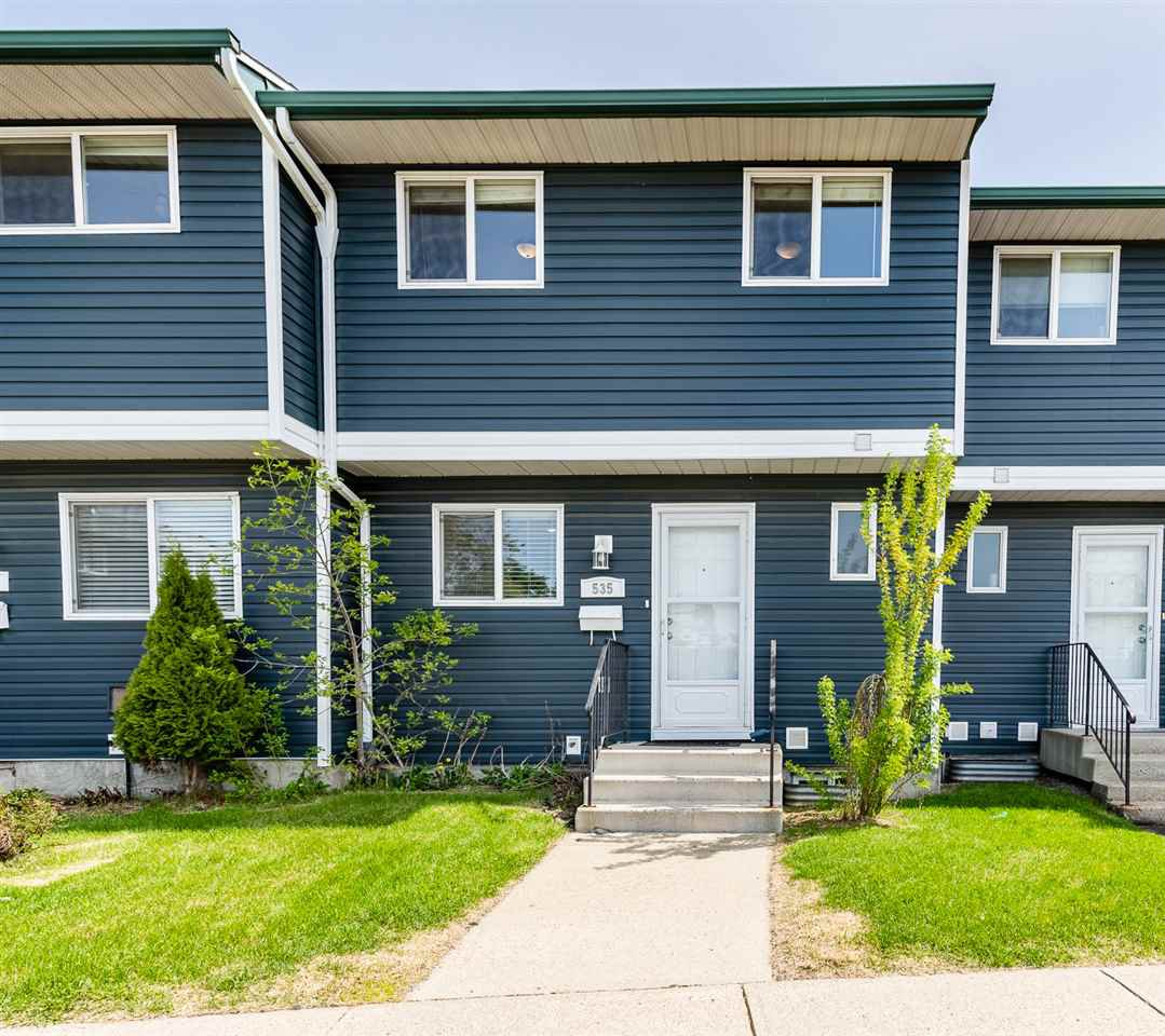 Main Photo: 535 DUNLUCE Road in Edmonton: Zone 27 Townhouse for sale : MLS®# E4200064
