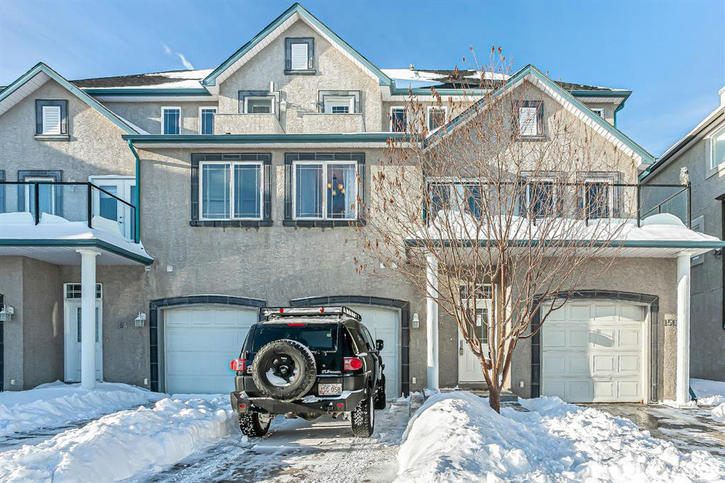 Main Photo: 152 Simcoe Place SW in Calgary: Signal Hill Row/Townhouse for sale : MLS®# A1038775