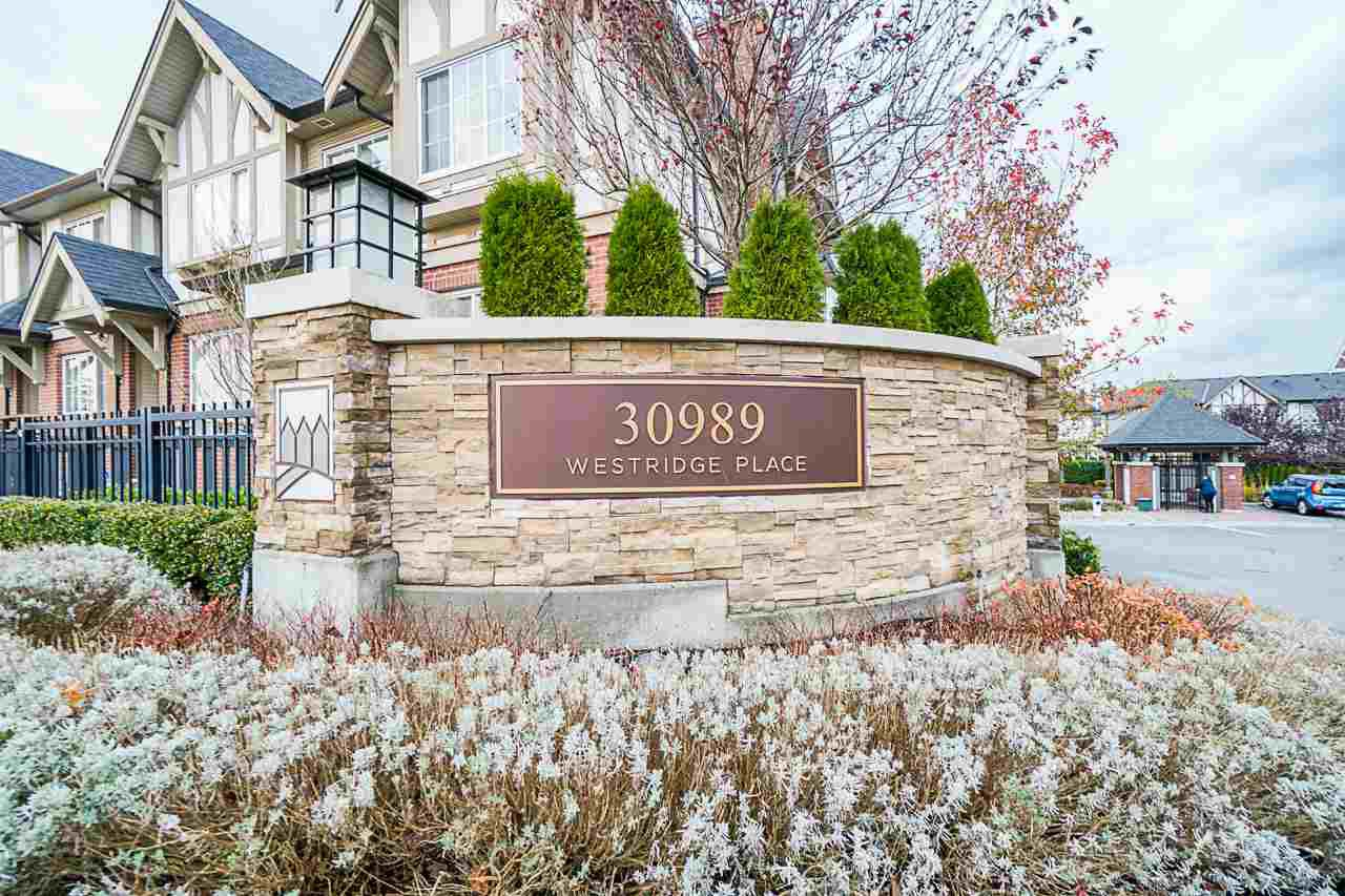 "Main Photo: 20 30989 WESTRIDGE Place in Abbotsford: Abbotsford West Townhouse for sale in ""Brighton"" : MLS®# R2517527"
