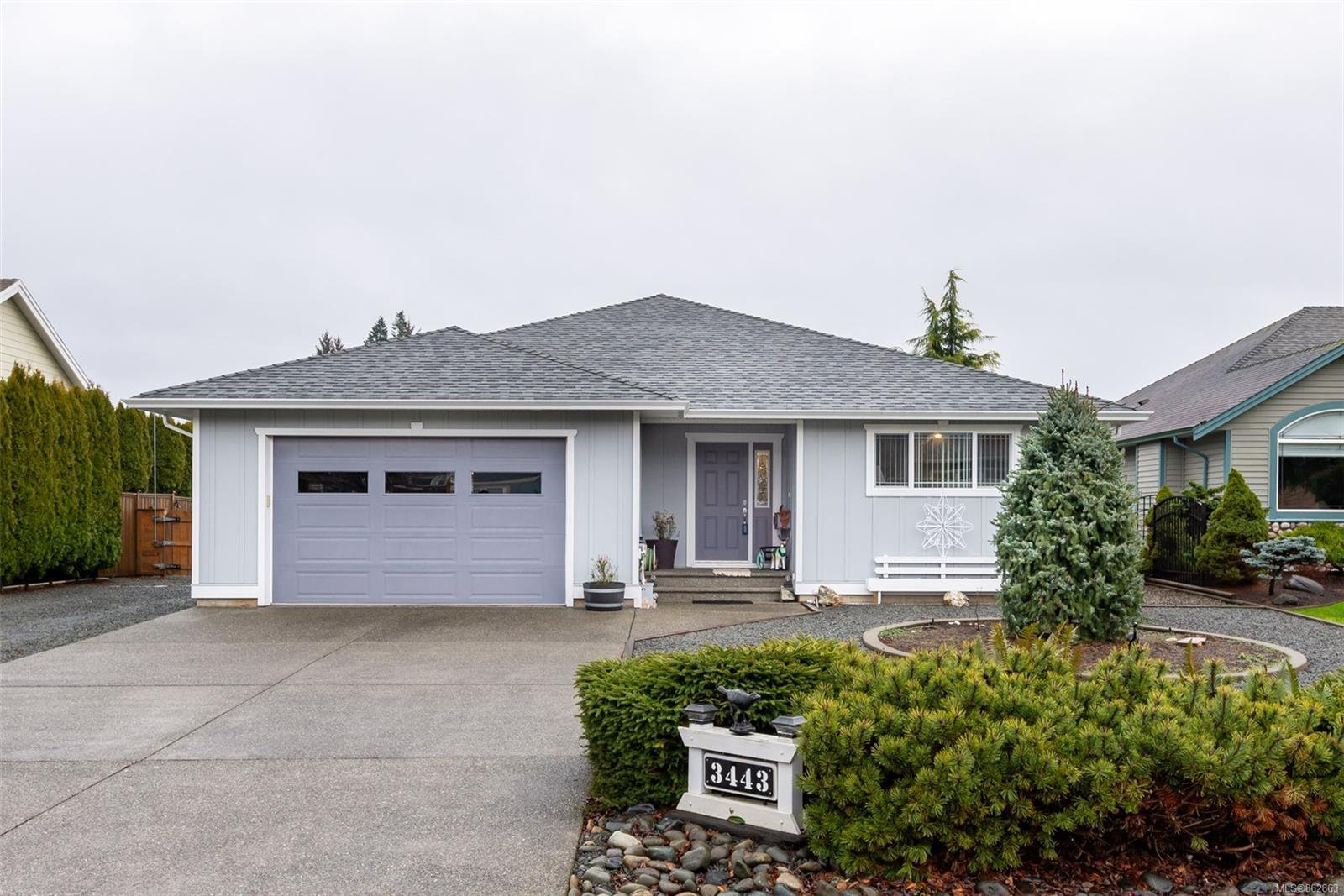 Main Photo: 3443 Worthing Pl in : CR Willow Point House for sale (Campbell River)  : MLS®# 862863