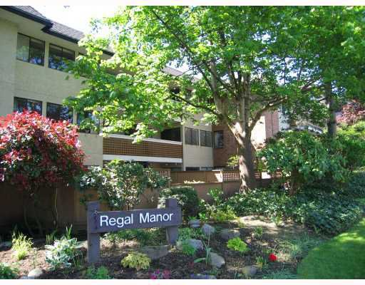 "Main Photo: 102 316 CEDAR Street in New Westminster: Sapperton Condo for sale in ""REGAL MANOR"" : MLS®# V801236"