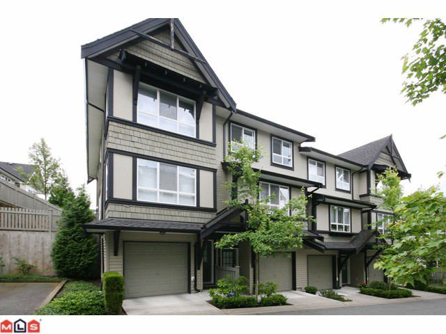 "Main Photo: 116 6747 203RD Street in Langley: Willoughby Heights Townhouse for sale in ""SAGEBROOK"" : MLS®# F1017944"