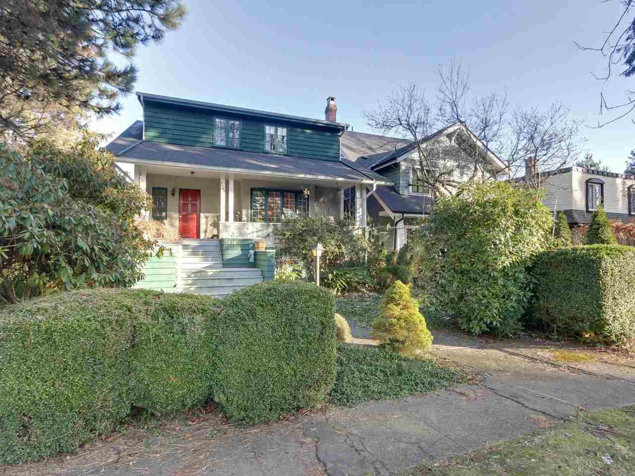 Main Photo: 5938 Elm Street in Vancouver: Kerrisdale House for sale (Vancouver West)