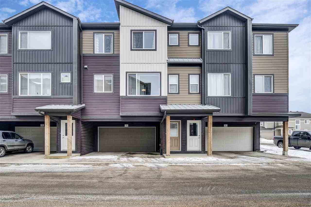Main Photo: #2 16903 68 Street in Edmonton: Zone 28 Townhouse for sale : MLS®# E4191310