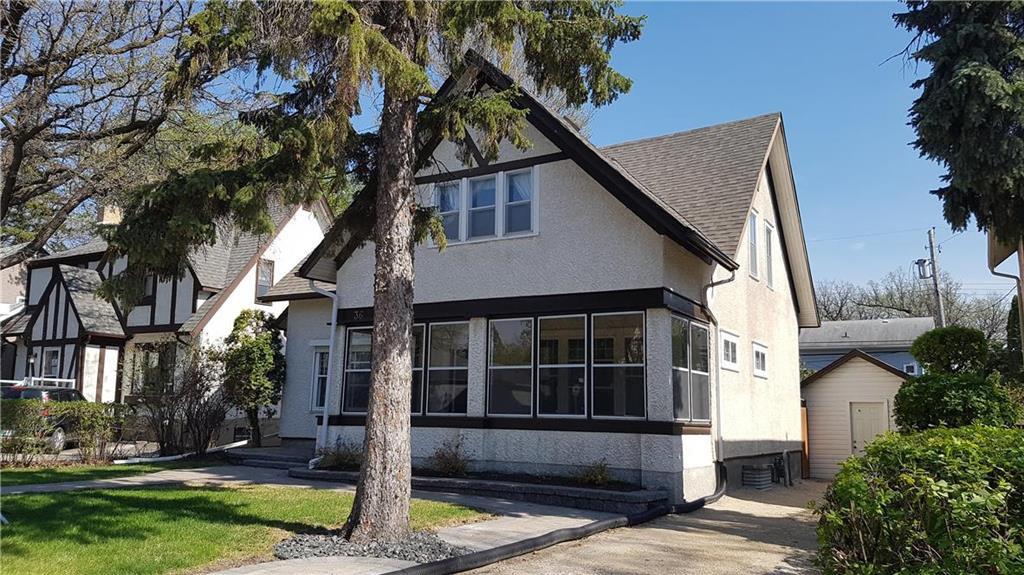 Main Photo: 36 Rosewarne Avenue in Winnipeg: St Vital Residential for sale (2C)  : MLS®# 202007618