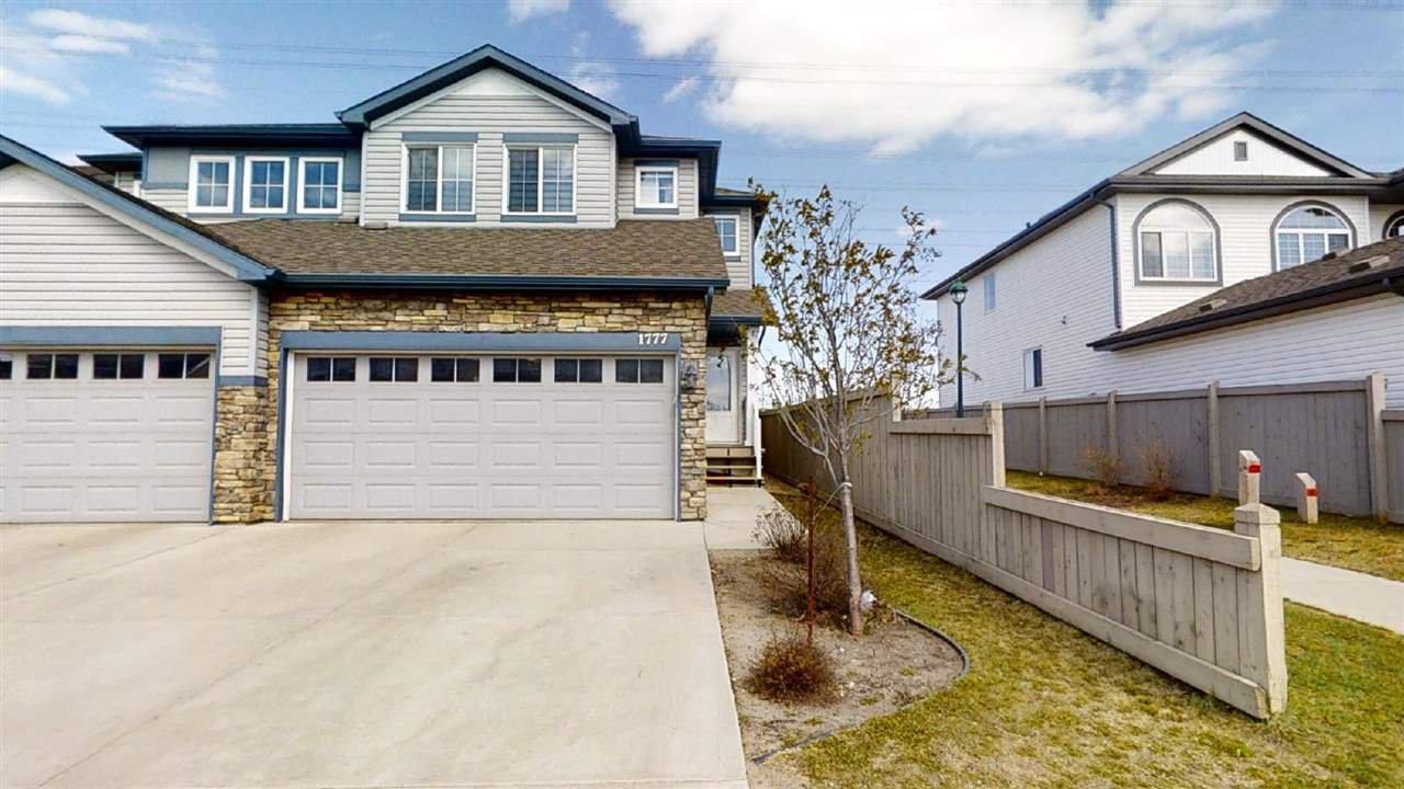 Main Photo: 1777 28 Street in Edmonton: Zone 30 House Half Duplex for sale : MLS®# E4197545