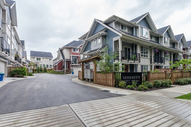 Main Photo: 9 21017 76 AVENUE in : Willoughby Heights Townhouse for sale : MLS®# R2085083