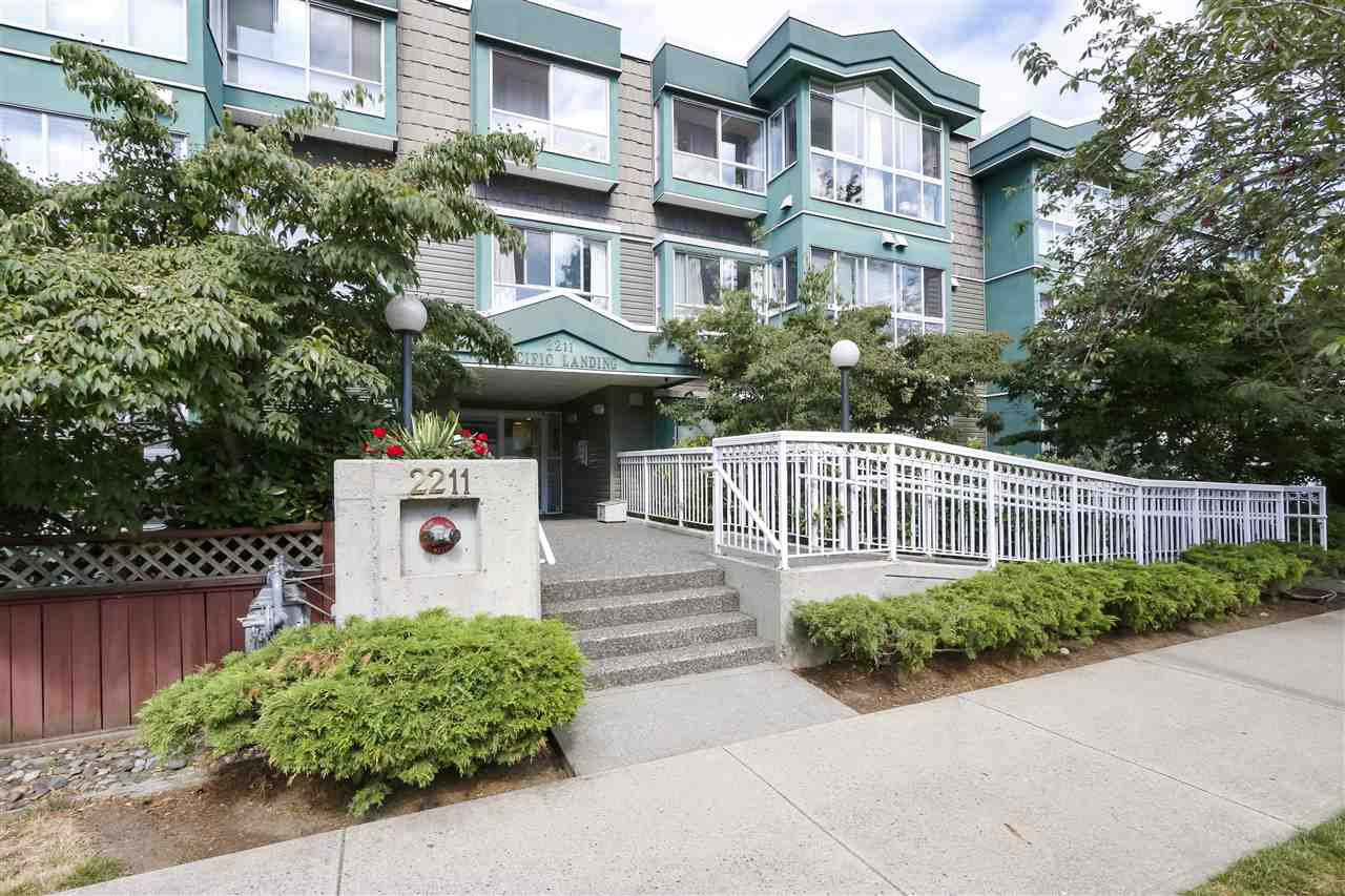 """Main Photo: 105 2211 WALL Street in Vancouver: Hastings Condo for sale in """"PACIFIC LANDING"""" (Vancouver East)  : MLS®# R2489744"""