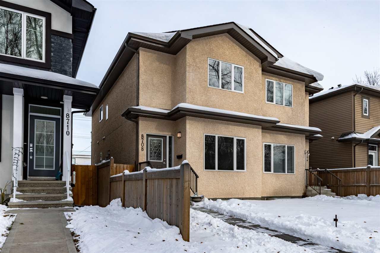 Main Photo: 8708 81 Avenue NW in Edmonton: Zone 17 House Half Duplex for sale : MLS®# E4221196