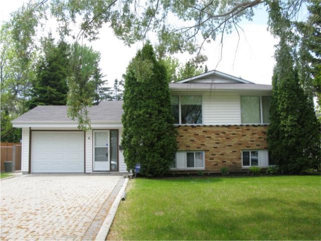 Main Photo: 6 Prescot Road in WINNIPEG: Fort Garry / Whyte Ridge / St Norbert Residential for sale (South Winnipeg)  : MLS®# 1005459
