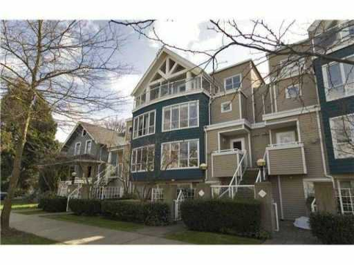 Main Photo: 758 W 15TH Avenue in Vancouver: Fairview VW Townhouse for sale (Vancouver West)  : MLS®# V858048