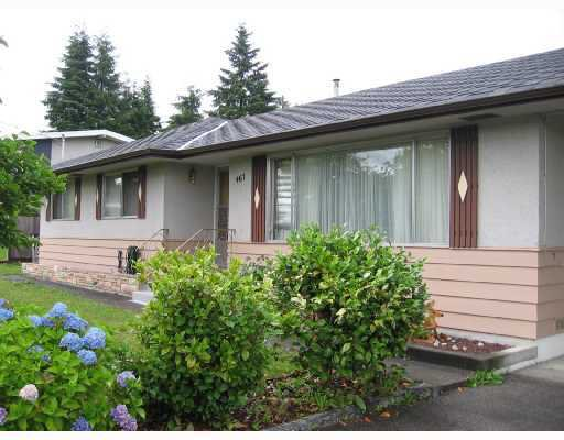 Photo 1: Photos: 467 DRAYCOTT Street in Coquitlam: Central Coquitlam House for sale : MLS®# V771360