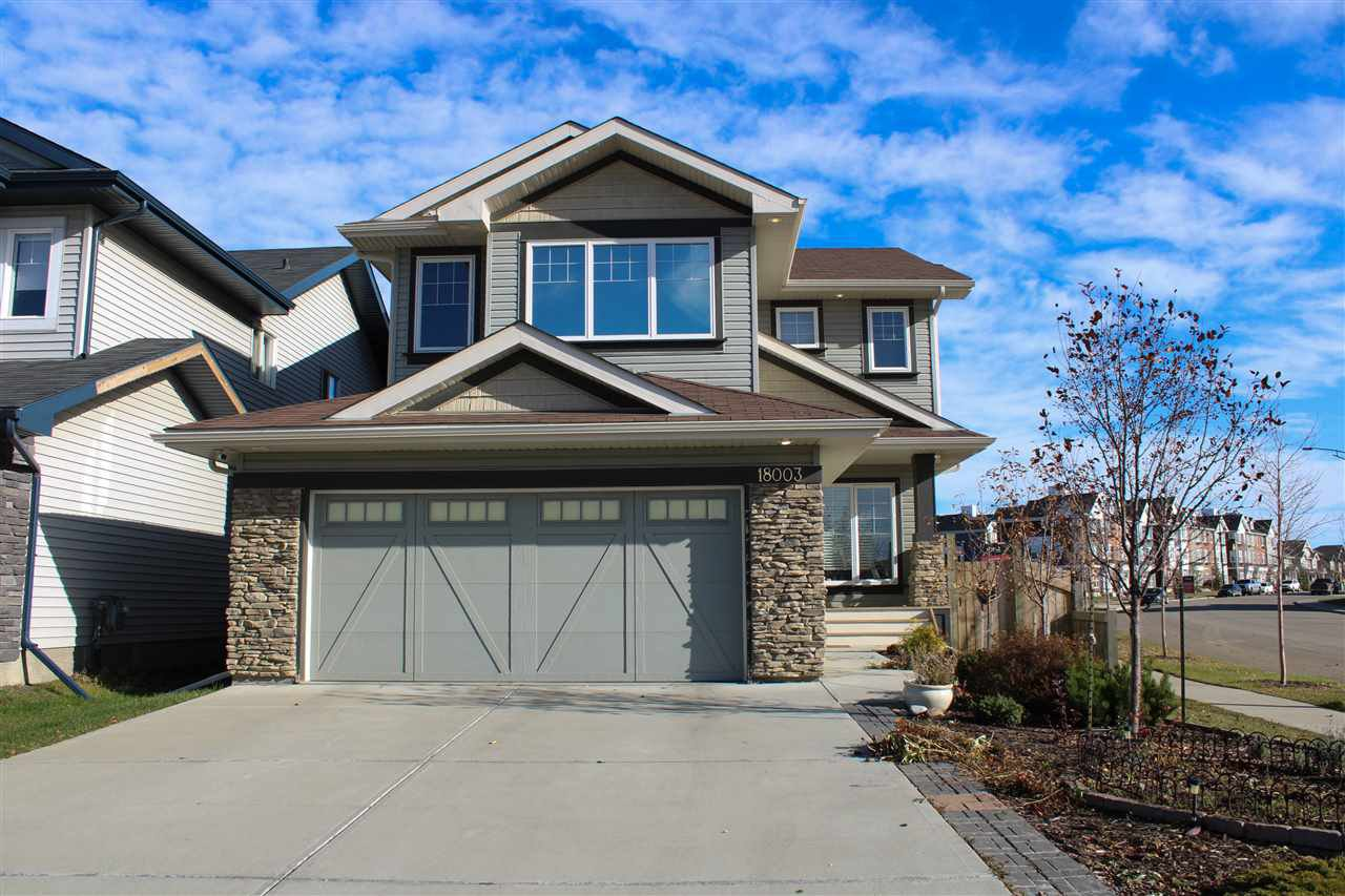 Main Photo: 18003 77 Street in Edmonton: Zone 28 House for sale : MLS®# E4188117
